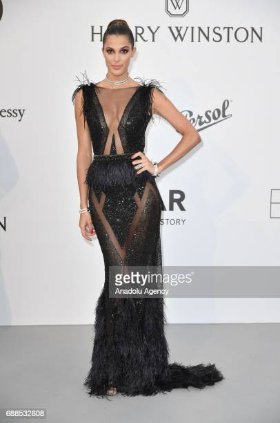 Iris Mittenaere attends the Amfar Gala at Hotel du CapEdenRoc in Cap d'Antibes France on May 26 2017
