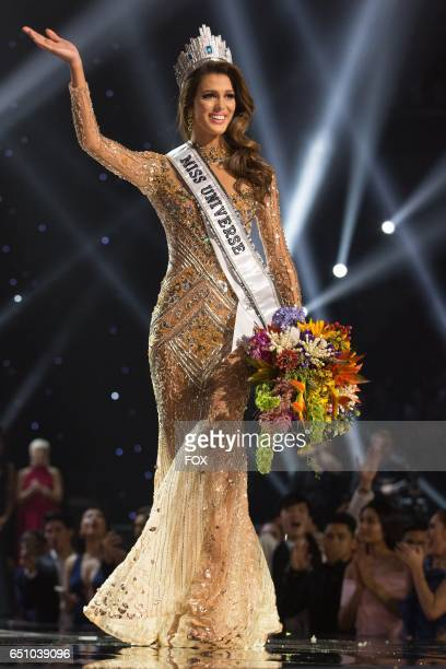 Iris Mittenaere Miss France 2016 is crowned Miss Universe at the conclusion The 65th MISS UNIVERSE® Telecast airing on FOX at 700 PM ET live/PT...