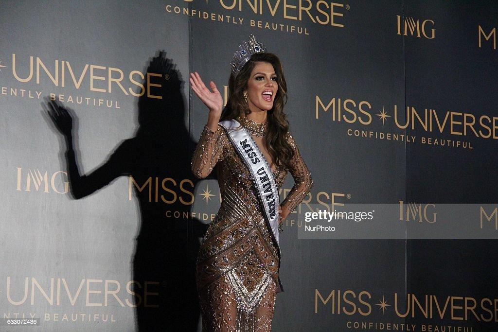 Miss Universe Coronation Night Press Conference : News Photo