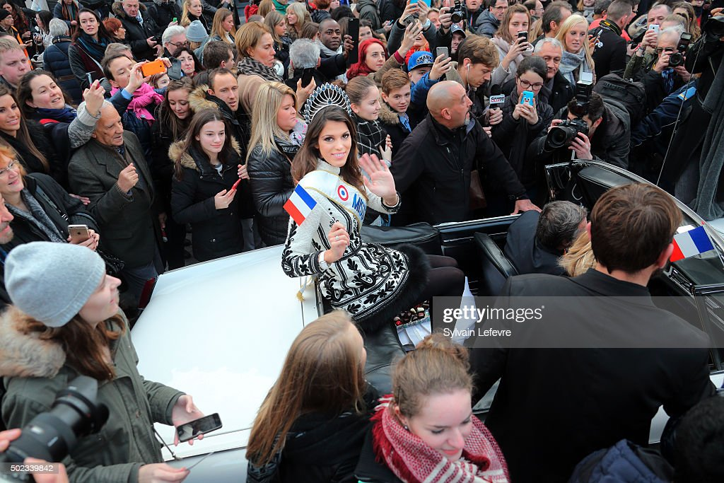 Miss France 2016 Returns To Her Hometown : News Photo
