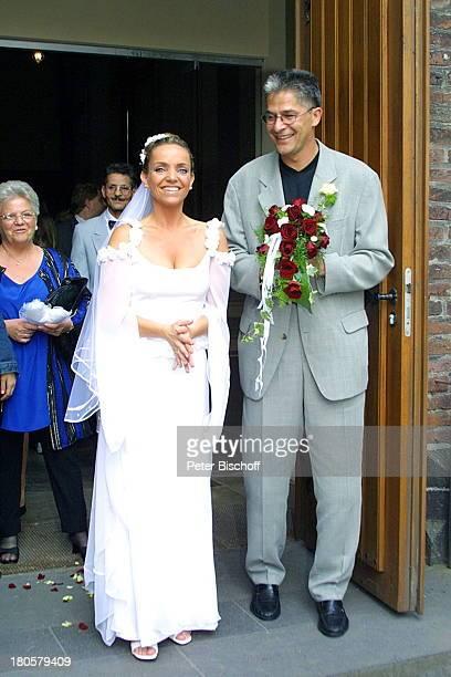 Iris Remmertz Ehemann Hansjörg Criens Mutter Helga Remmertz kirchliche Trauung Mönchengladbach Kirche St Mariä Empfängnis Braut Bräutigam Hochzeit...