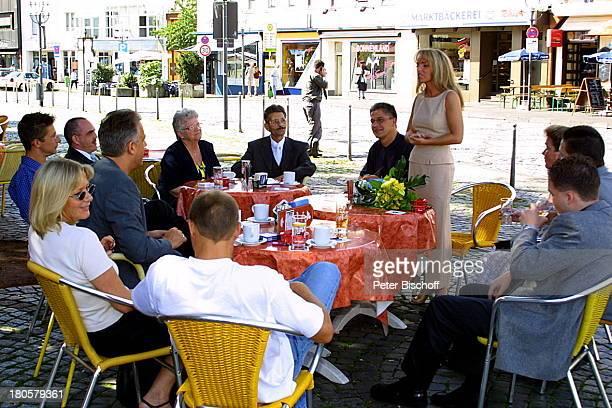 Iris Remmertz Lebensgefährte und zukünftiger Ehemann Hansjörg Criens mit Familie und Trauzeugen Schwägerin Elke Criens deren Ehemann Dieter Criens...