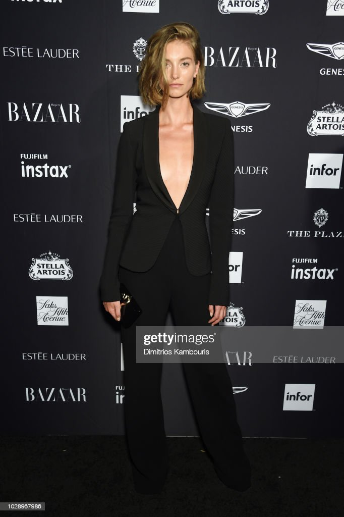 Iris van Berne attends as Harper's BAZAAR Celebrates 'ICONS By Carine Roitfeld' at the Plaza Hotel on September 7, 2018 in New York City.