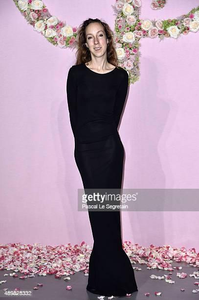 Iris van Herpen attends a photocall during The Ballet National de Paris Opening Season Gala at Opera Garnier on September 24 2015 in Paris France