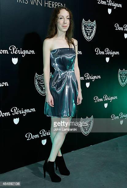 Iris Van Herpen attends the Dom Perignon Metamorphosis By Iris van Herpen Launch Party at Pioneer Works on September 3 2014 in New York City