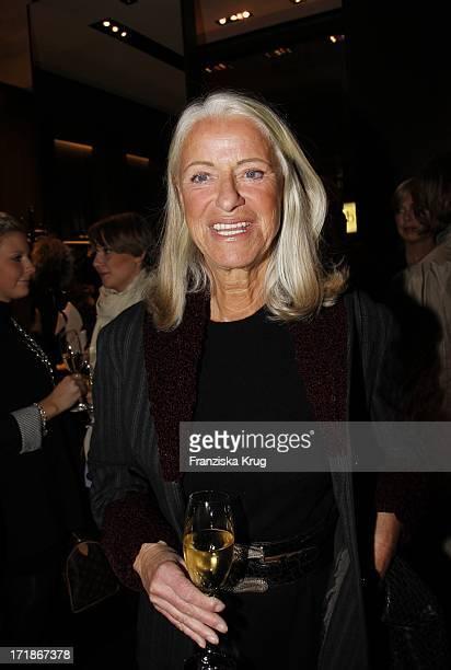 Iris Von Arnim At Bally Store Opening Event at the Neuer Wall in Hamburg