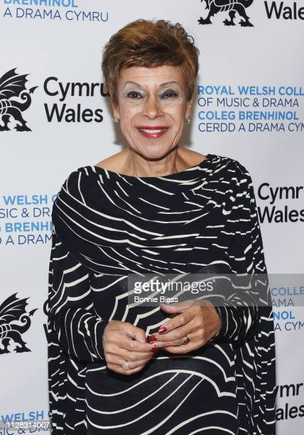 Iris Williams attends The Royal Welsh College of Music Drama 2019 Gala at The Rainbow Room on March 1 2019 in New York City