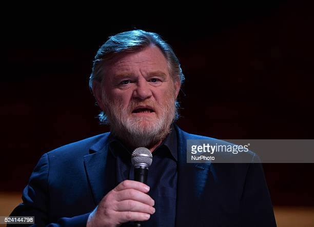 Irish actor Brendan Gleeson announces details of an exciting new project a strictly limited fourweek run 'The Walworth Face' by Enda Walsh as he will...