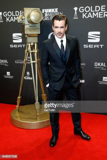Irish actor Colin Farrell arrives for the Goldene Kamera on March 4 2017 in Hamburg Germany