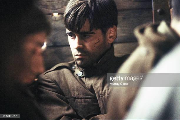 Irish actor Colin Farrell as Lieutenant Thomas Hart in a scene from the film 'Hart's War', 2002.