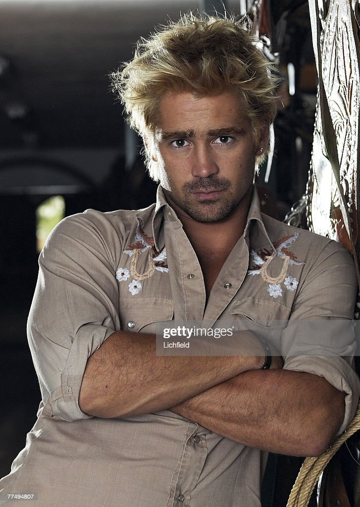 Irish actor Colin Farrell on location for the film Alexander in Spain on 22nd August 2003. (Photo by Lichfield/Getty Images).