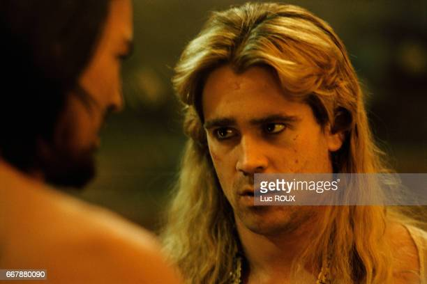 Irish actor Colin Farrell on the set at Pinewood studios in London of the film Alexander directed by Oliver Stone