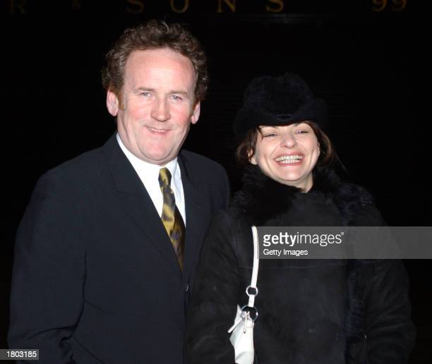 Irish actor Colm Meaney and Ines Glorian arrive at the Lillies Bordello afterparty for the Neil Jordan's film The Good Thief at UGC February 18 2003...