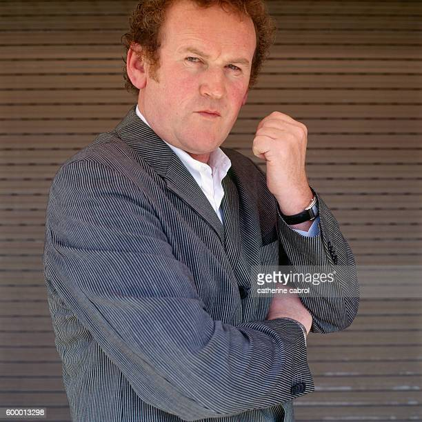Irish actor Colm Meaney during the 1998 Cannes Film Festival