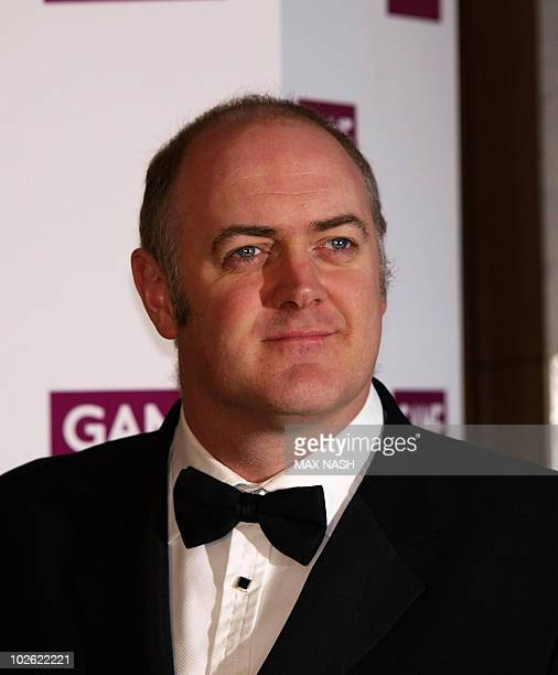 Irish actor Dara O'Briain arrives at the British Academy Games Awards 2010 in Central London on March 19 2010 AFP PHOTO/MAX NASH