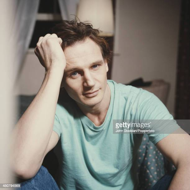 Irish actor Liam Neeson 1989