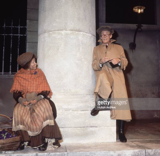 Irish actor Peter O'Toole and Jackie Smith-Wood star in a production of Shaw's 'Pygmalion'