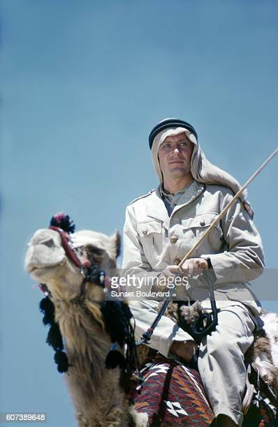 Irish actor Peter O'Toole on the set of Lawrence of Arabia directed by David Lean