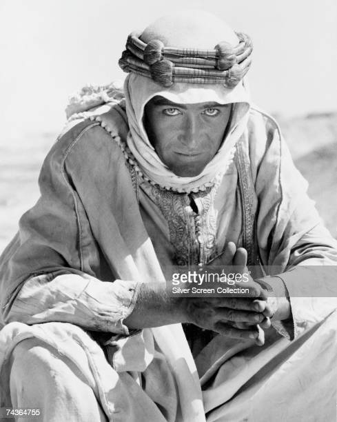 Irish actor Peter O'Toole stars as T E Lawrence in the film 'Lawrence of Arabia' directed by David Lean 1962