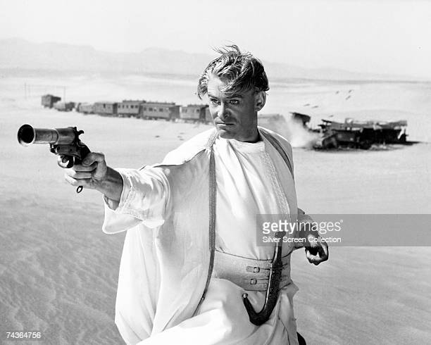 Irish actor Peter O'Toole stars as T. E. Lawrence in the film 'Lawrence of Arabia', directed by David Lean, 1962.