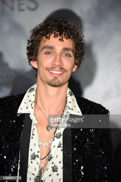 Irish actor Robert Sheehan attends the premiere of 'Mortal Engines' at the Regency Village Theatre in Los Angeles California on December 5 2018