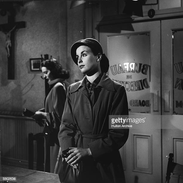 Irish actress Constance Smith as she appears in 'The 13th Letter' directed by Otto Preminger for 20th Century Fox