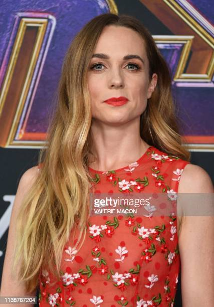 Irish actress Kerry Condon arrives for the World premiere of Marvel Studios' Avengers Endgame at the Los Angeles Convention Center on April 22 2019...
