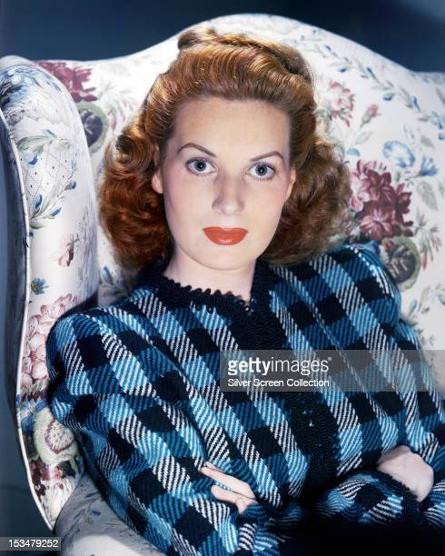 Irish actress Maureen O'Hara circa 1940