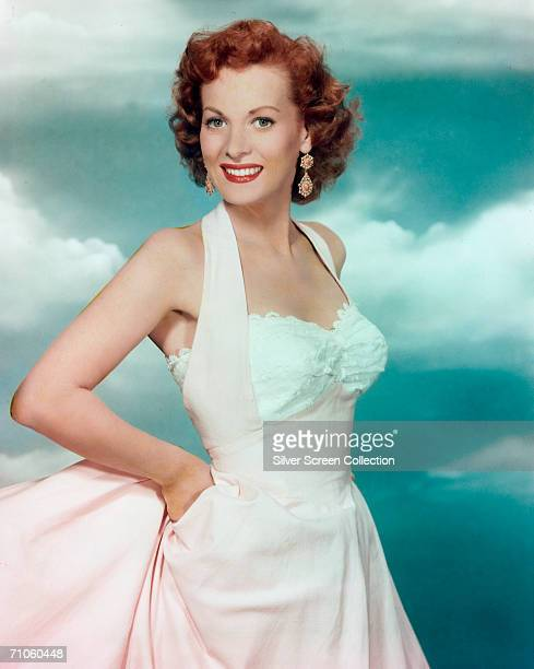 Irish actress Maureen O'Hara circa 1950