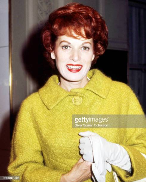 Irish actress Maureen O'Hara circa 1960