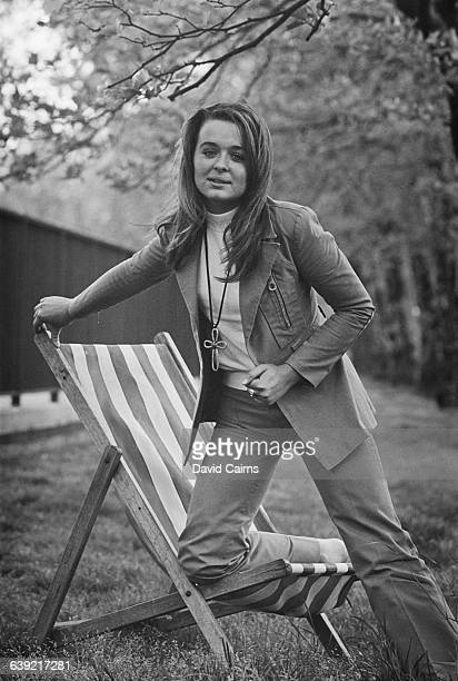 Irish actress Sinead Cusack UK 17th May 1971