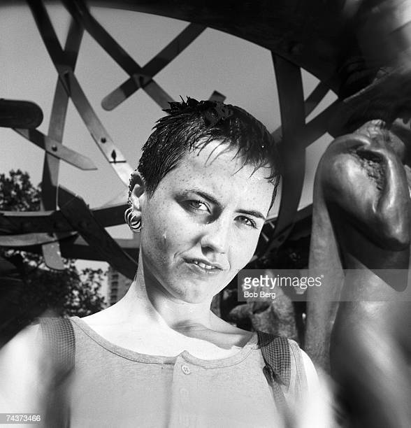 Irish alternative band 'The Cranberries' lead singer Dolores O'Riordan poses for a June 1995 portrait in New York City New York