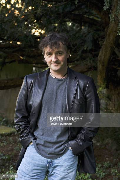Irish author John Connolly poses for a portrait to promote his new book 'The Black Angel' out on April 25 on April 27 2005 in Guildford England