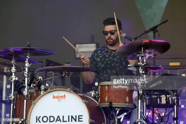 Irish band Kodaline performs at the NOS Alive music festival in Lisbon Portugal on July 8 2017 Photo Pedro Fiuza
