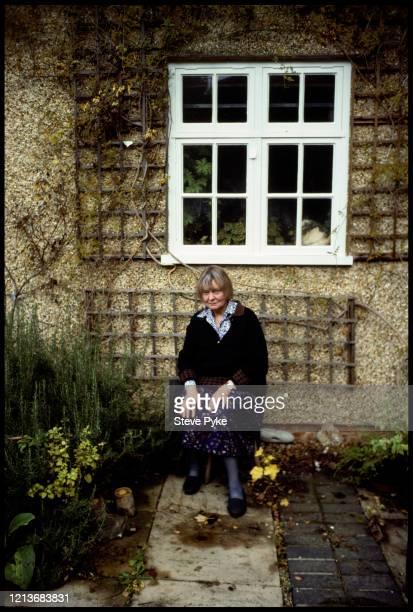 Irish born British novelist and philosopher Iris Murdoch Oxford 1991