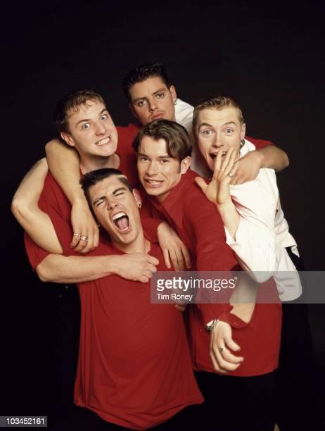Irish boy band Boyzone circa 1995 Clockwise from top left Mikey Graham Keith Duffy Ronan Keating Stephen Gately and Shane Lynch