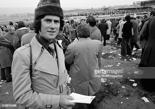 Irish businessman JP McManus attending the Cheltenham Festival circa March 1976