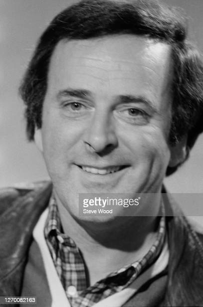 Irish chat show host Terry Wogan at the BBC Television Centre in Shepherd's Bush, London, for the relaunch of his chat show 'Wogan', 18th February...