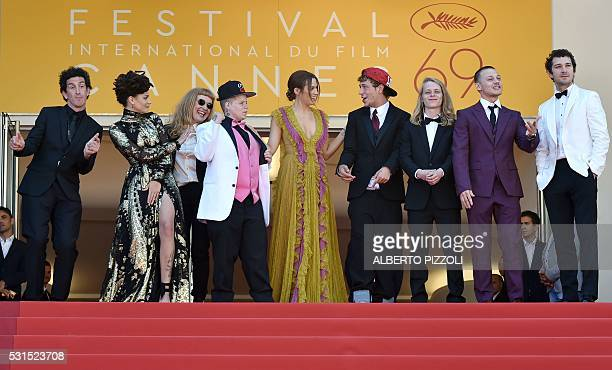 Irish cinematographer Robbie Ryan US actress Sasha Lane British director Andrea Arnold US actress Veronica Ezell US actress Riley Keough US actor...