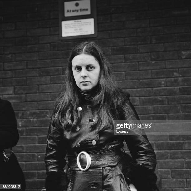 Irish civil rights activist and politician Bernadette Devlin upon her return from the US 12th March 1971
