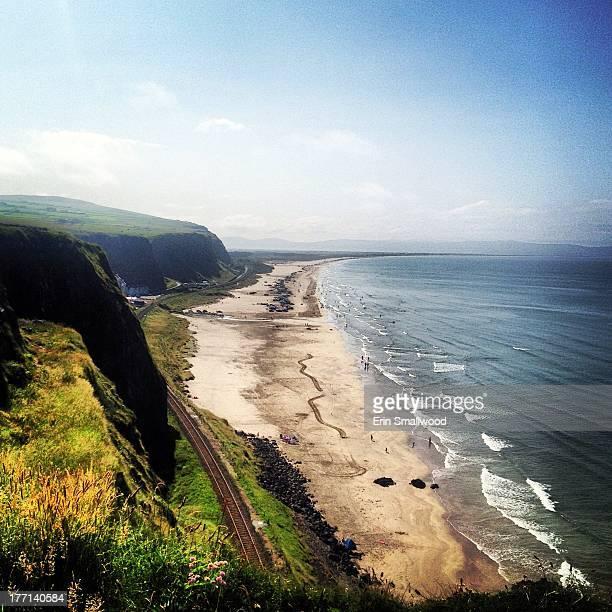 Irish coastline - Downhill beach