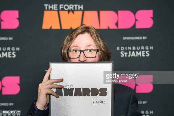 Irish comedian Ed Byrne attends 'Radio Forth Awards 2018' at Usher Hall on November 15 2018 in Edinburgh Scotland