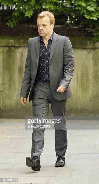 Irish comedian Graham Norton arrives at Saint Bride's Church in central London for the funeral service of British writer and broadcaster Clement...