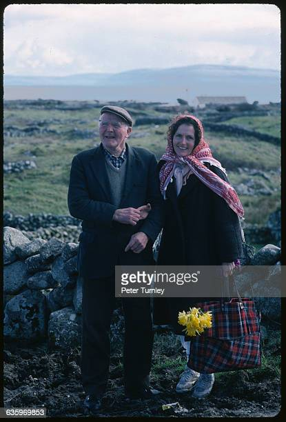 Irish Couple in the Countryside