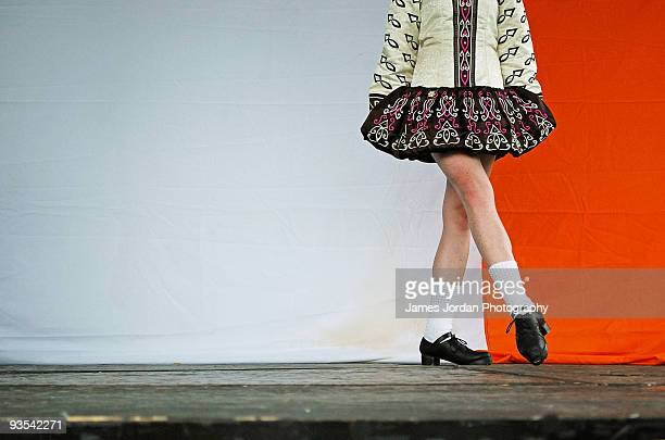 irish dancer - irish culture stock pictures, royalty-free photos & images