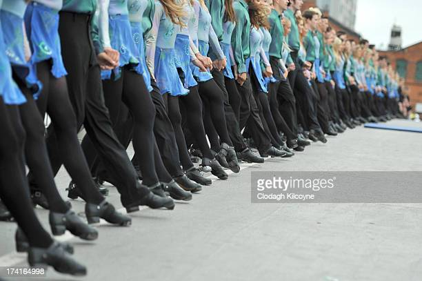 Irish dancers break the World Record for the number of dancers in a continuous line with a total of 1693 people from 44 countries Irish Dancing on...
