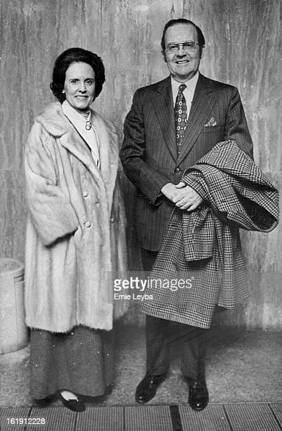 NOV 9 1972 NOV 10 1972 Irish Drama The Hostage Performed at Bonfils Mr and Mrs Howard Cherne were on hand for Thursday opening of second production...