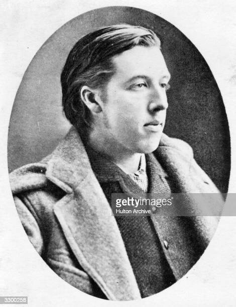 Irish dramatist novelist poet and critic Oscar Wilde during his time at Oxford