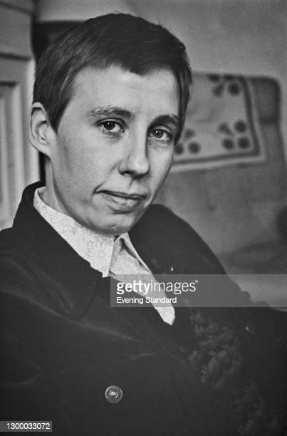 Irish feminist and activist Etain Madden , UK, 29th February 1972.