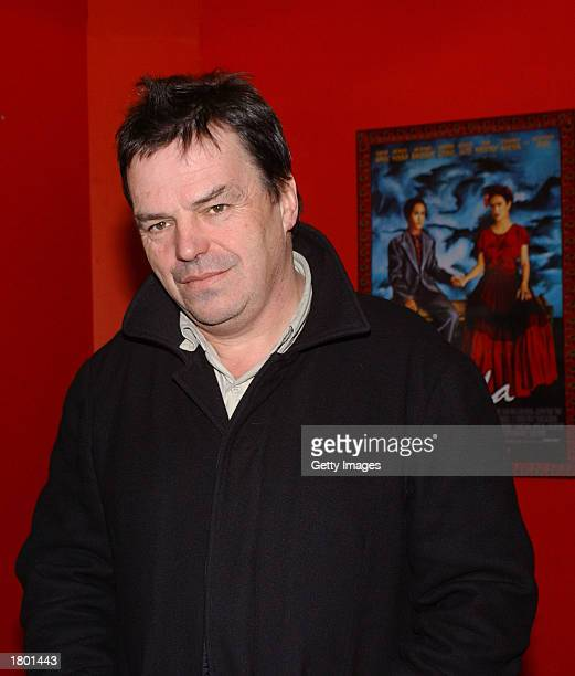 Irish film director Neil Jordan attends the premiere of Frida at UGC February 17 2003 Dublin Ireland